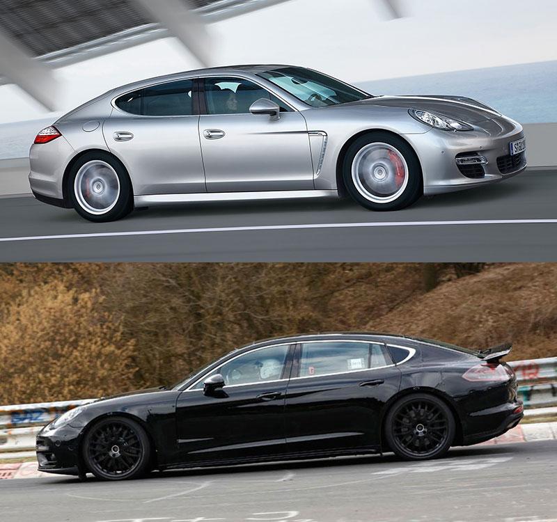 Porsche Panamera - porównanie nowej generacji ze starym modelem