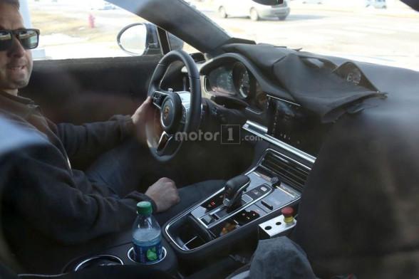 Porsche Panamera - wnętrze (2 generacja)