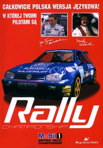 Charakterystyczna, czerwona okładka Rally Championship 2000