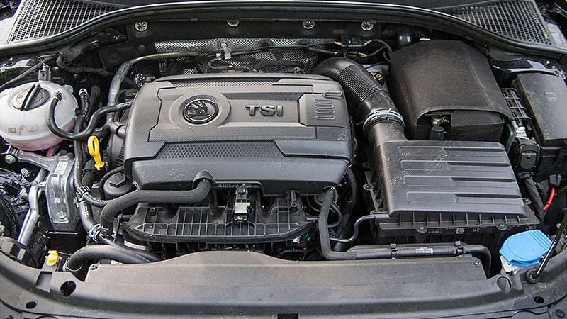 Silnik 1,8 TSI w modelu Skoda Octavia generuje 180 KM