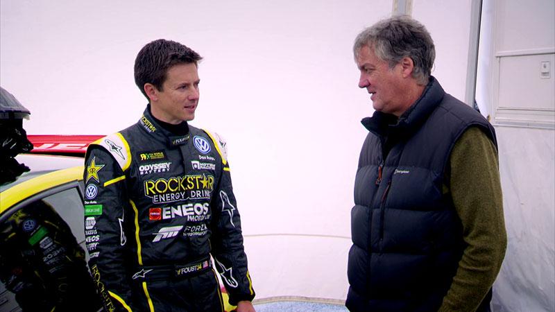 Tanner Foust i James May przygotowują się do wyścigu