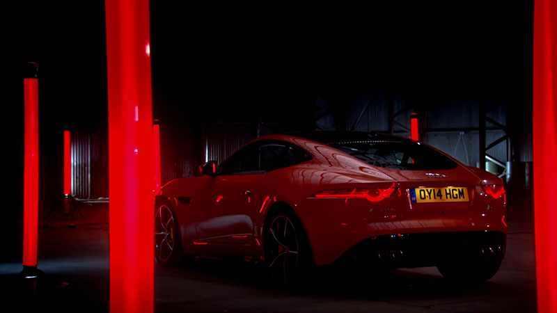 Jaguar F Type R Miał Swój Test Na Torze Top Gear