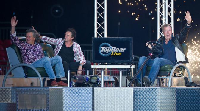 Jeremy Clarkson wraca do pracy, przynajmniej na Top Gear Live