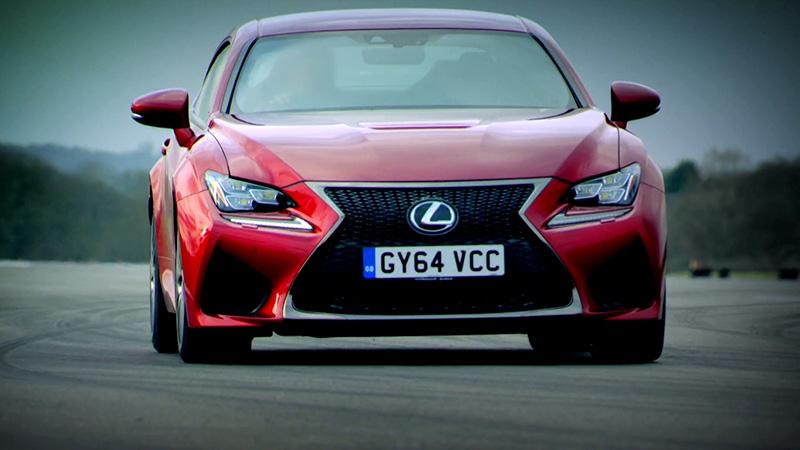 Test w Top Gear - nowy Lexus RC F