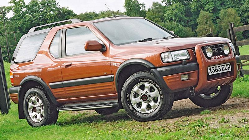 Vauxhall Frontera - jeden z bohaterów wyzwania Top Gear