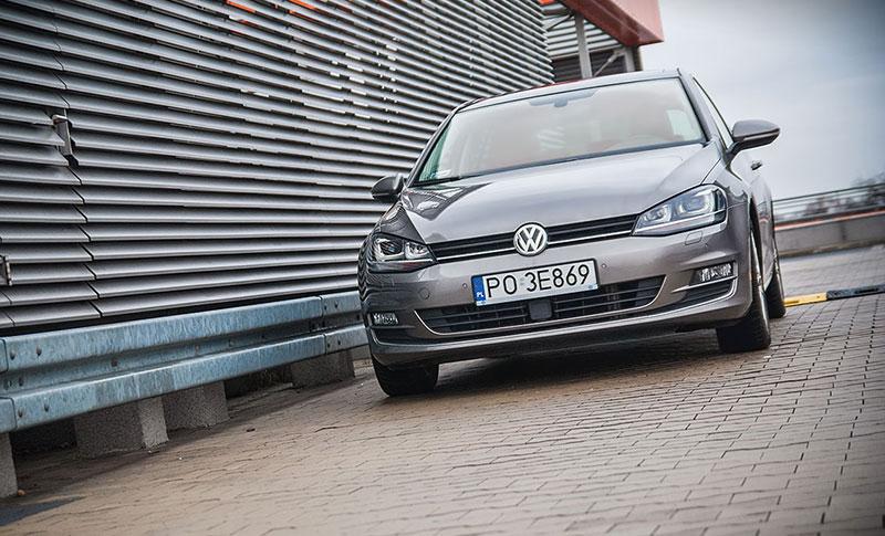 Przód Volkswagena Golfa nie przykuwa wzroku