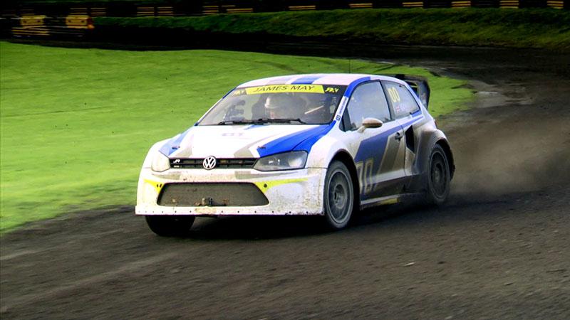 Volskwagen Polo R przystosowany do wyścigów typu rallycross to prawdziwy potwór