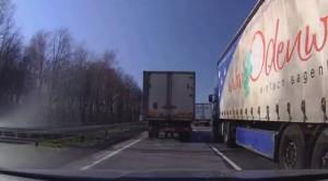 Szeryf drogowy, blokowanie lewego pasa i natychmiastowa nauczka – wideo