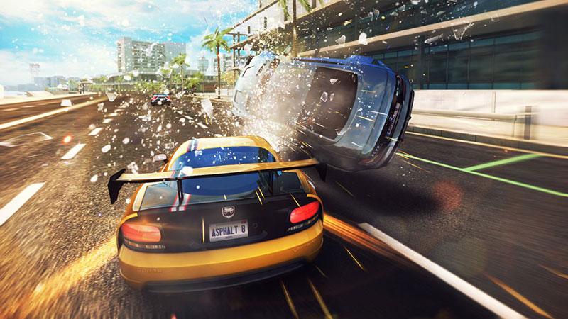 Asphalt 8: Airborne to jedna z bardziej popularnych samochodowych gier mobilnych