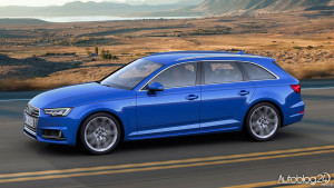 Audi A4 (B9) Avant - zdjęcie z boku
