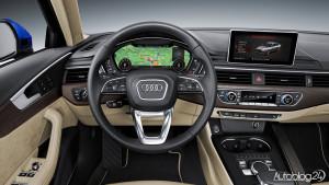 Audi A4 (B9) - wnętrze