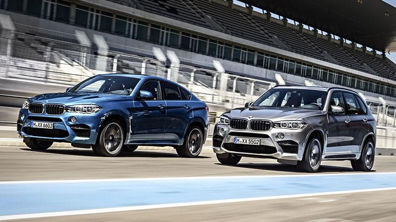 Gorące premiery BMW - modele X5 M oraz X6 M