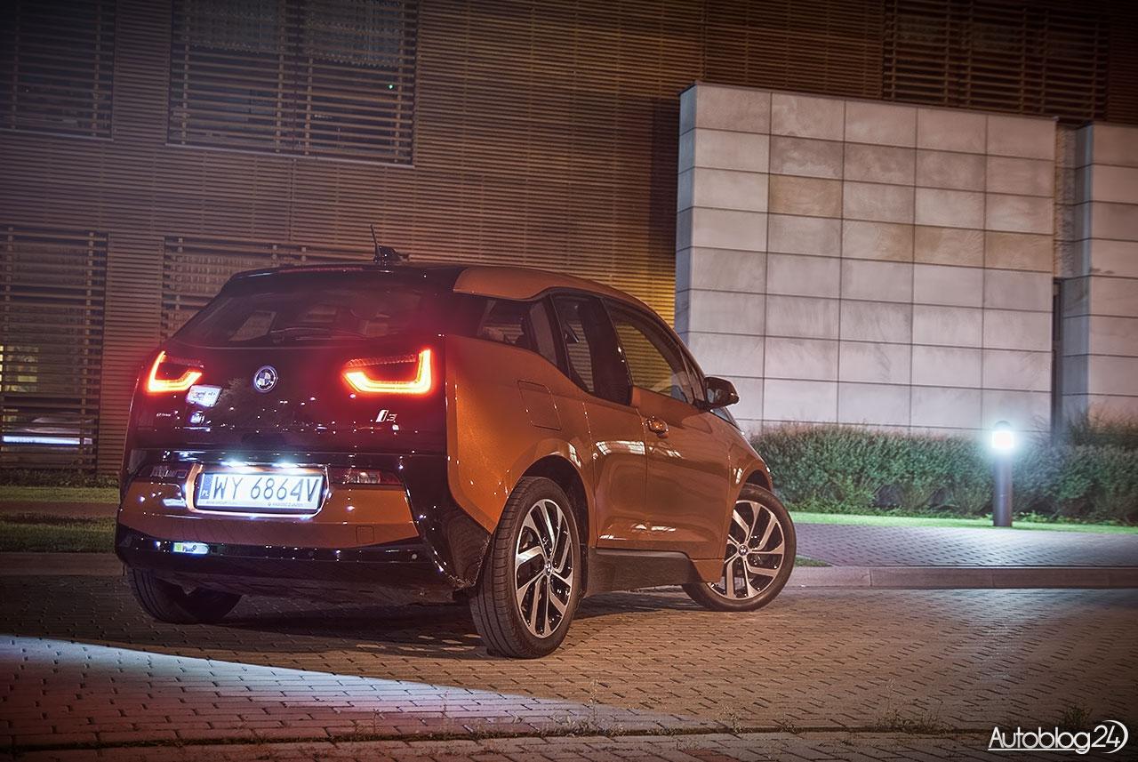 Elektryczne BMW i3