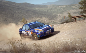 OS'y w Grecji w DiRT Rally