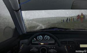 DiRT Rally - efekty pogodowe (deszcz)
