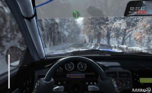 DiRT Rally - widok z wnętrza samochodu (onboard)