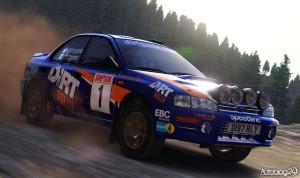 Klasyczne Subaru Impreza w DiRT Rally