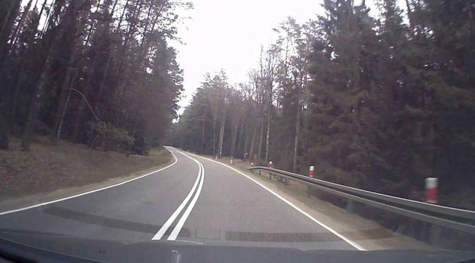 Droga krajowa 58 (DK 58) – mój przejazd po niej (onboard) w Wahacz TV