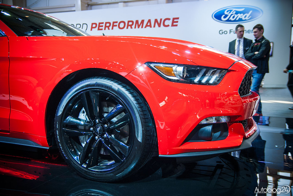 Imponująca felga w nowym Fordzie Mustang