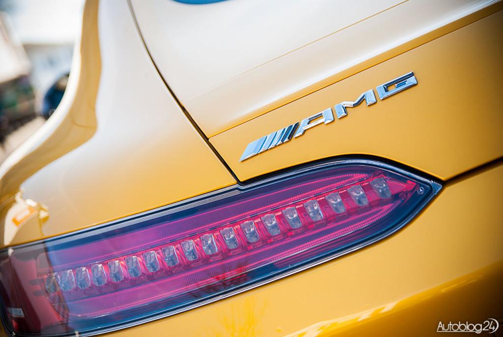 Logo AMG zdradza z jakim samochodem mamy do czynienia
