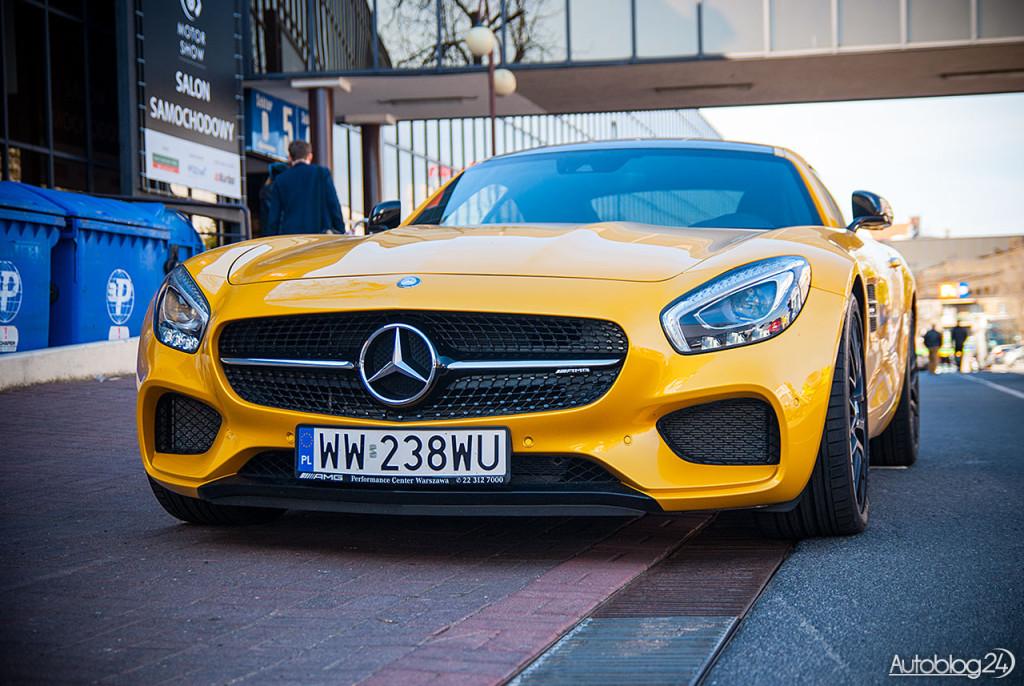 Agresywny porzód w Mercedesie AMG-GT