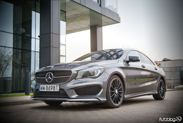Mercedes CLA Edition 1 - samochód z aktywnym tempomatem