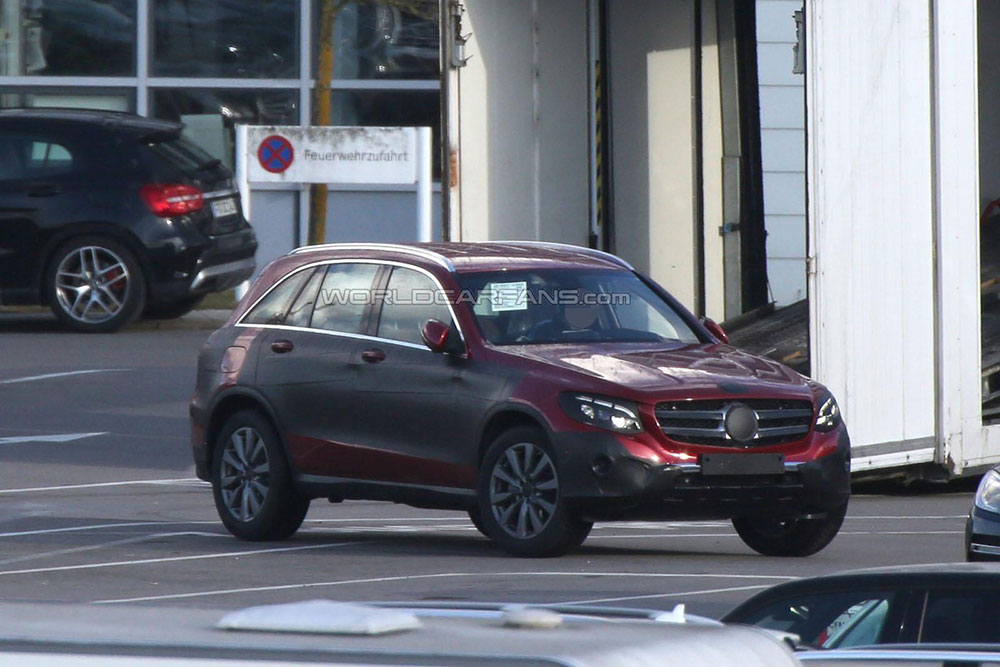 Mercedes GLC - zdjęcie z transportu (przód)