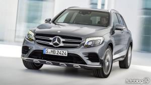 Nowy Mercedes GLC - zdjęcie przodu