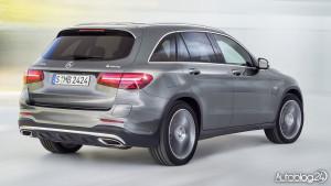 Nowy Mercedes GLC - zdjęcie tyłu