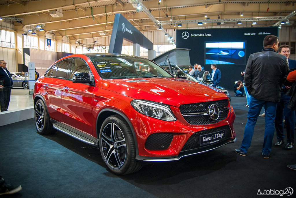 Mercedes GLE Coupe na Poznań Motor Show 2015