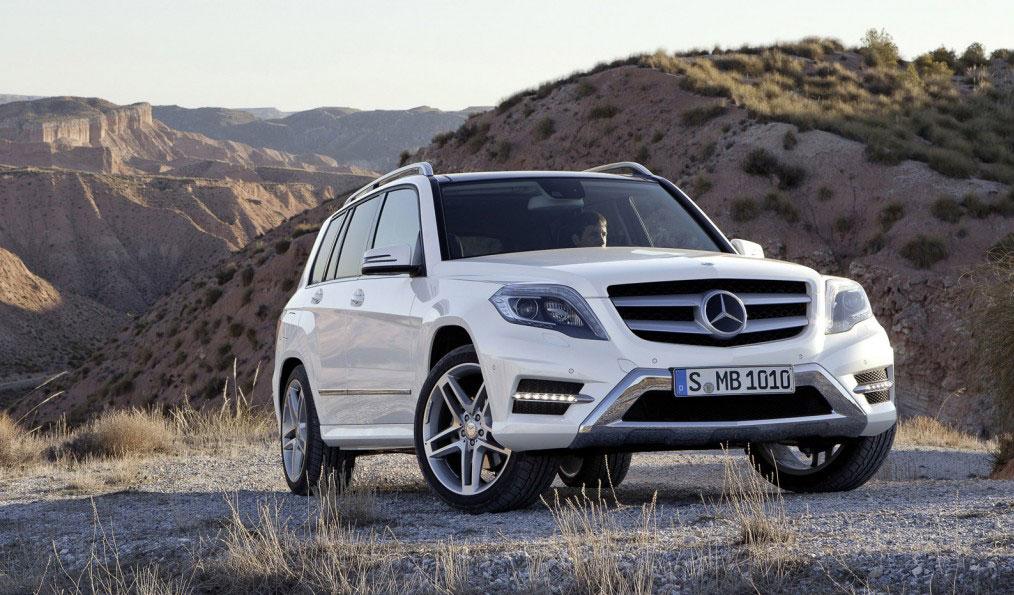 Mercedes GLK - widok z przodu