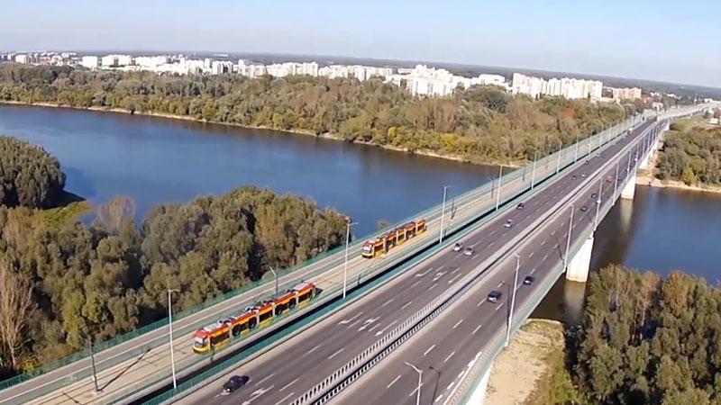 Most Północny w Warszawie, a właściwie Marii Skłodowskiej-Curie