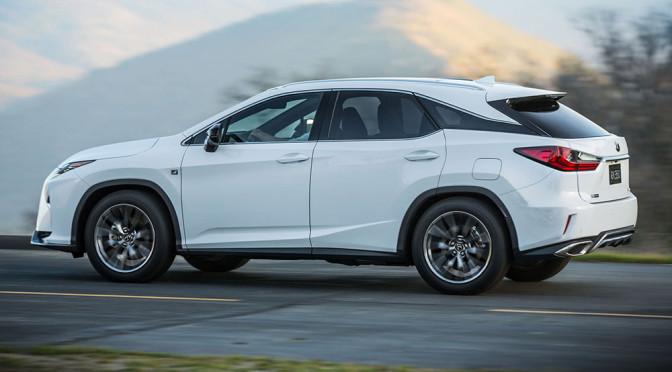 Lexus RX (2016) – nowy SUV premium na zdjęciach robi rewelacyjne wrażenie