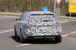Nowe Audi A4 B9 kombi - tył samochodu