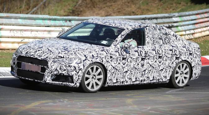 Nowe Audi A4 B9 (2016) - zdjęcia szpiegowskie