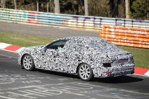 Nowe Audi A4 B9 (2016) - bok wersji sedan