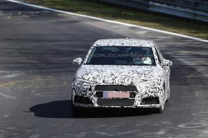 Nowe Audi A4 B9 (2016) - w nowej generacji zmianie ulegnie umiejscowienie znaczka