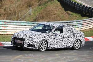 Nowe Audi A4 B9 (2016) - przód samochodu