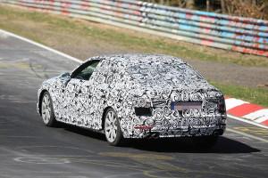 Nowe Audi A4 B9 (2016) - tył wersji sedan