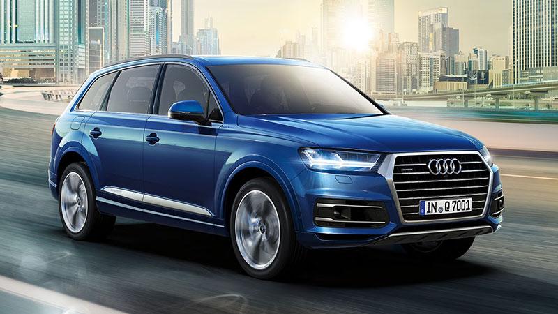 Na Poznań Motor Show premierę będzie miało nowe Audi Q7 (2015)