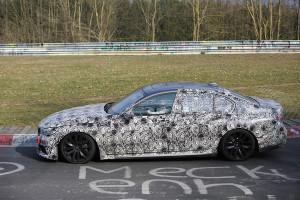 Nowe BMW Serii 7 (2016) - tak wygląda z boku
