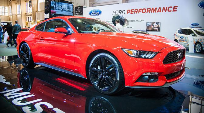 Nowy Ford Mustang – polskie ceny i zdjęcia z Poznań Motor Show 2015