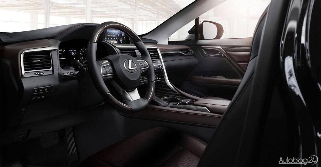 Nowy Lexus RX (2016) - tak wygląda wnętrze