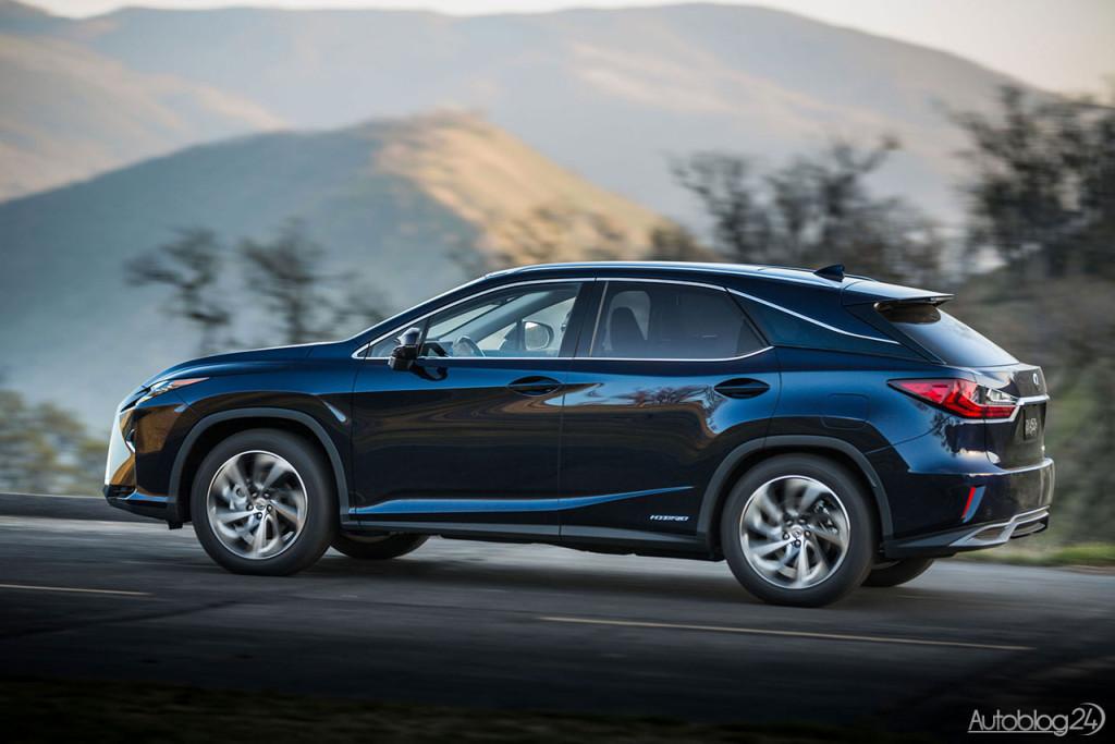 Linia boczna nowej generacji Lexusa RX