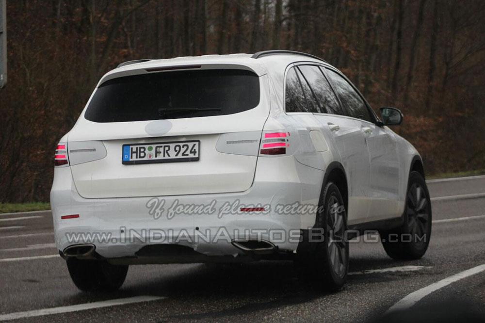 Spyshot przedstawia nowego Mercedesa GLC
