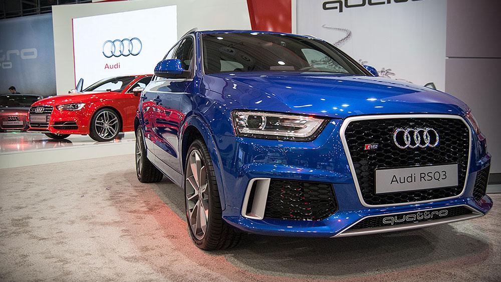 Premiera Audi RSQ3 na Poznań Motor Show 2014