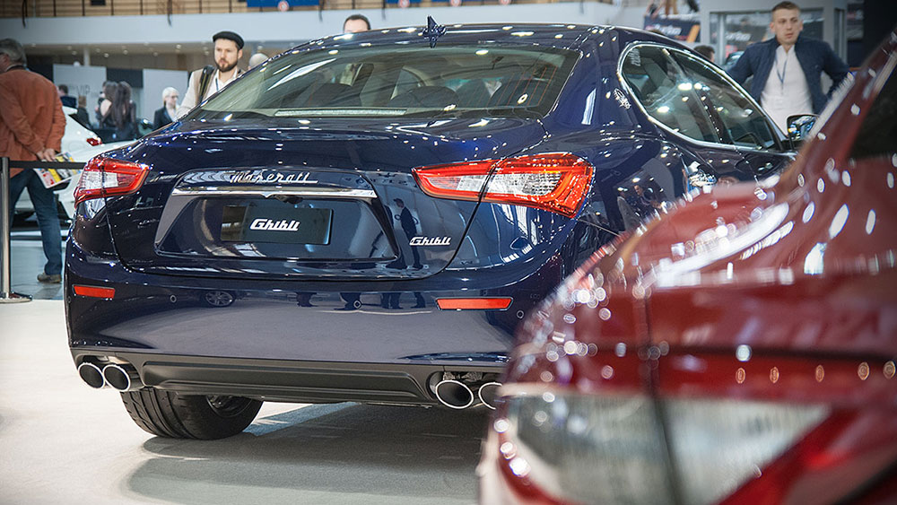 Stoisko Maserati na Poznań Motor Show 2014