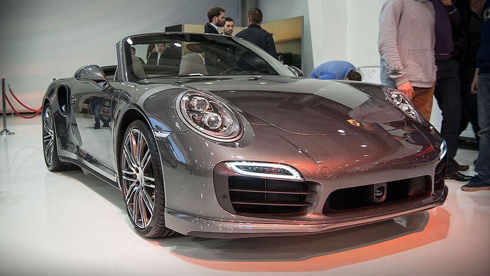 Stoisko Porsche na Poznań Motor Show 2014
