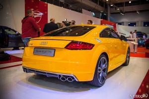 Nowe Audi TTS z tyłu
