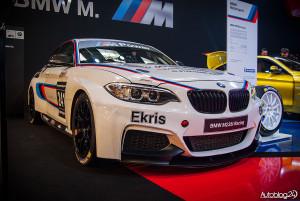 Poznań Motor Show 2015 - wyścigowe BMW M235i Racing